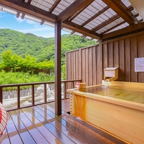 特別室【源泉露天風呂付】風呂