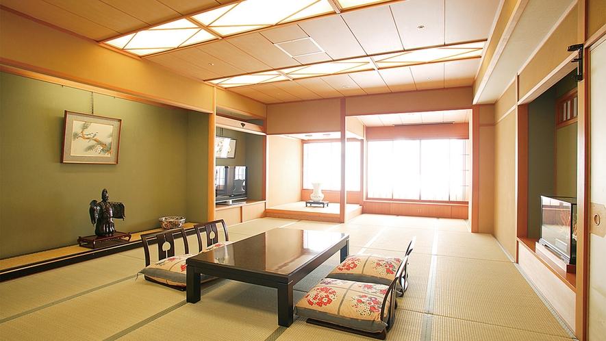 【特別貴賓室「珊瑚」】将棋タイトル戦「名人戦七番勝負」で対局室として使用される特別仕様の貴賓室です。