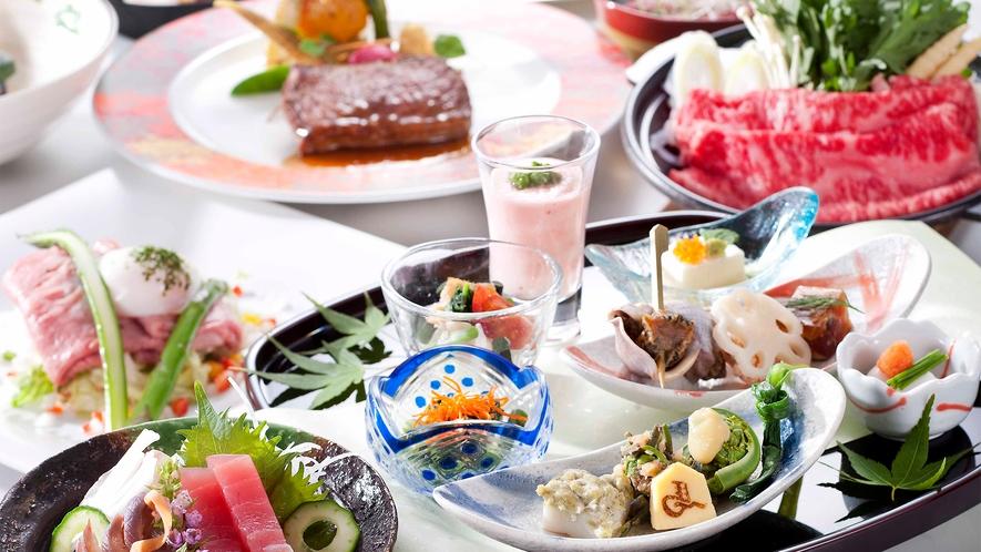 【会席料理イメージ】食の宝庫山形の、四季の恵みを「天童ホテルオリジナル会席料理」でご堪能ください。