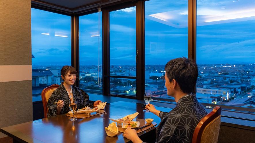 【会食場】個室会食場「彩花亭」(一例)