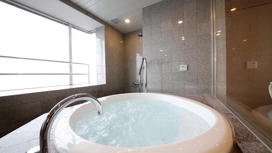 【デラックス】ジャグジー風呂付き和洋室(一例) ※温泉湯ではありません
