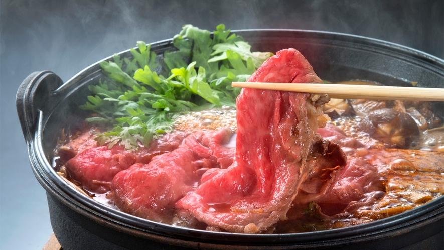 山形牛すき焼き ※大鍋イメージ