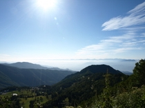 山田牧場からの景色