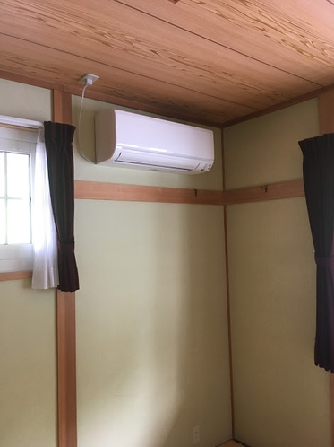 エアコン付きのお部屋(2部屋)