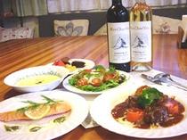 夕食(ある日のディナー、フランス風家庭料理)
