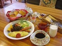 朝食(ある日の朝食)