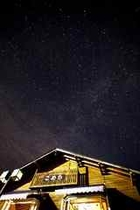 外観 夜空