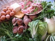 地元の食材