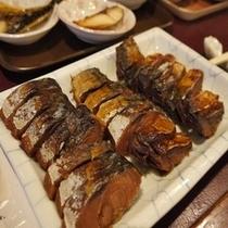 """福井県の郷土料理""""へしこ""""でご飯が進みます。"""