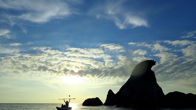 今年も登場!佐渡の日本海を堪能♪サファイアブルーの海でシーカヤック体験を満喫しよう【1泊2食】