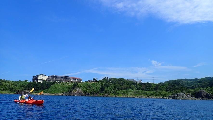 【シーカヤック】海上散歩で気分爽快!
