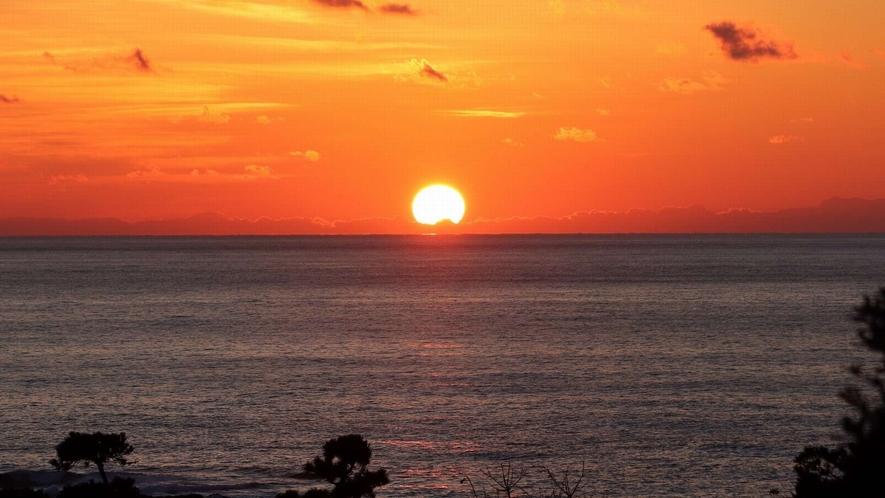 吾妻の全ての客室は、日本海を見晴らす美しいオーシャンビュー