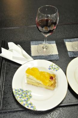 カップルにお勧め!貸切風呂無料+グラスワイン・プチケーキ付き