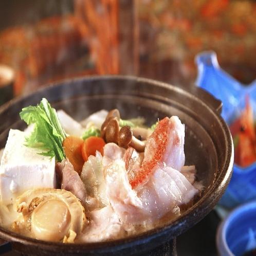 料理 鍋刺身