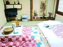 部屋一例(8畳間)くつろぎの和室