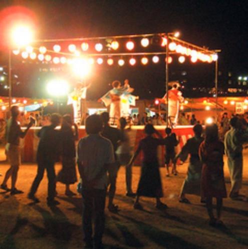 盆踊り・昼神温泉夏祭り
