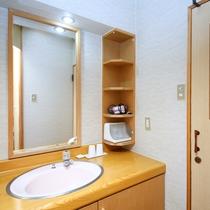 西館和室洗面所