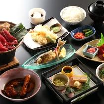 山の幸を中心とした会席料理全12品