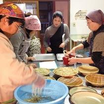 *蕎麦祭り/みんなで美味しい「新蕎麦」を作ります!