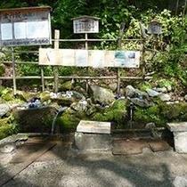 長野県名水100選♪清内路の1番清水
