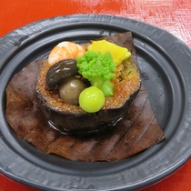 長野県産 米茄子鳥味噌田楽