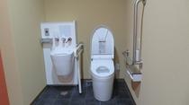 2021年2月新設 多目的・多機能トイレ 車いす利用できます