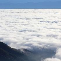 壮大な雲海