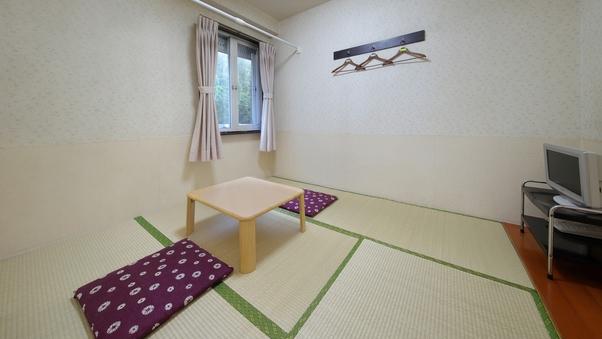 ペットと一緒に泊まれる和室(1〜2名利用)