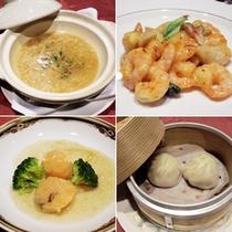 <中華フカヒレコース(ご夕食)>