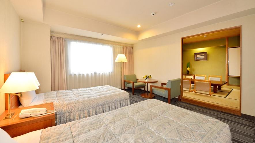 ■新館和洋室(和室8畳+洋室)