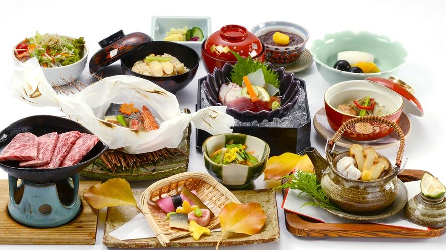 会席料理コース(画像はイメージです)