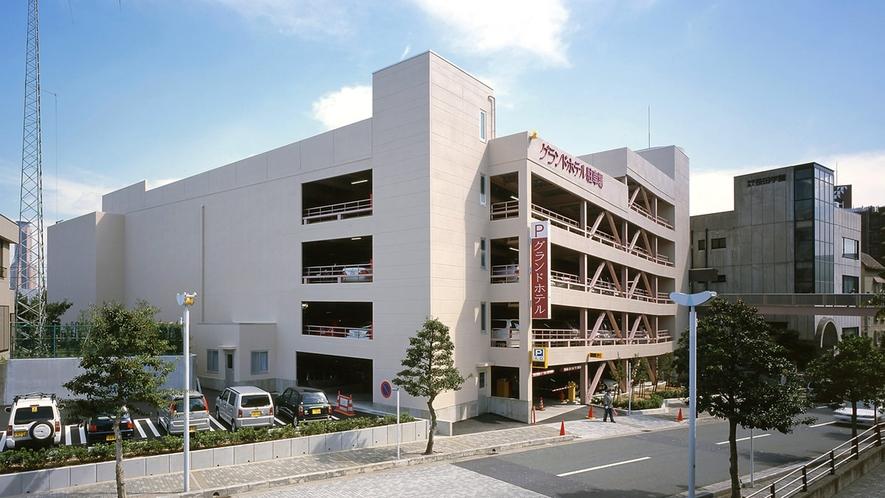 ■立体駐車場(無料/300台)ご宿泊中24時間出入り可能。無料駐車券をフロントにてお渡しします。