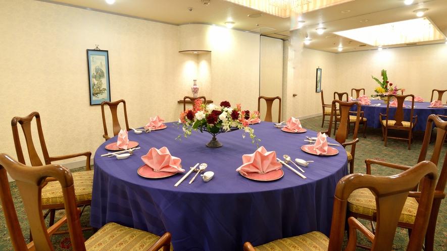 ■中国料理「朱茂琳(つもりん)」(本館B1F)は本場の伝統を受け継いだ、本格中国料理の真髄。