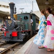 ■女子旅(坊ちゃん列車)■