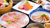 ■お肉中心会席■牛に、豚に、鴨・・・色々な方法で存分に味わえます♪