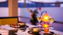 ■お食事処/天空の間■ムーディな空間 恋人+との食事がより一層大切なものに…
