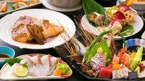 ■お魚中心会席■母なる海が育てた美魚たち♪美味しさそのまま調理しました!