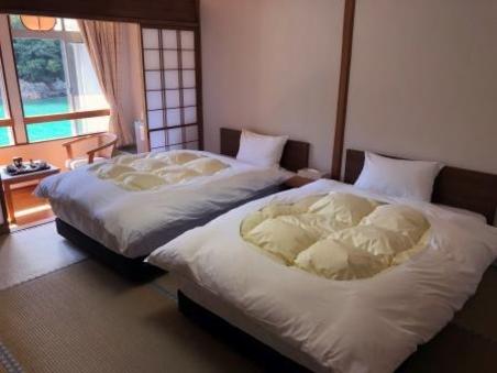 別館和室ツインベッド