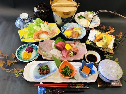 【秋冬旅セール】基本プラン夕食は新鮮な海の幸・山の幸を使った会席料理(10品)を堪能