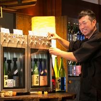 日本酒サーバー一成さん