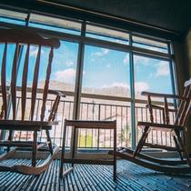 書斎部屋からの眺め