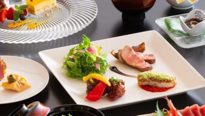 【レストラン「FONTANA」日本料理「千羽鶴」】和洋の美味しさが揃った季節のディナー