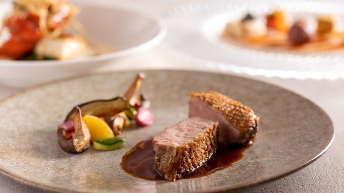 食材を美しく活かしたフルコース《レストラン「FONTANA」〜リュクス〜》