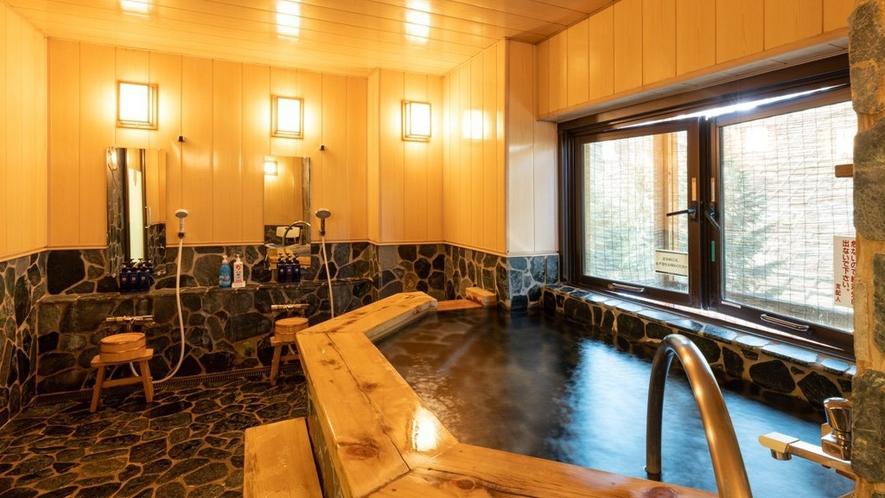 【貸切風呂】檜の香りの「魚野の湯」&lt