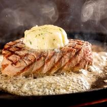 【夕食】レストラン「FONTANA」※ボルケーノステーキ