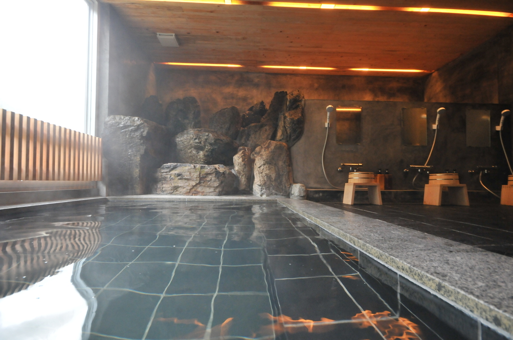 【女湯】三段峡温泉