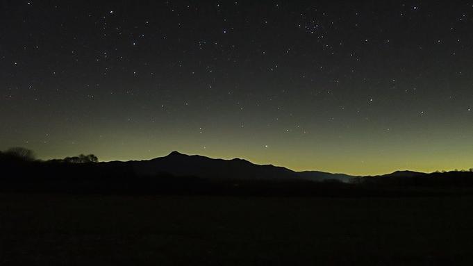 【1泊2食付】雄大な八ヶ岳と神秘的な星空を眺めにいらっしゃいませんか【星空】