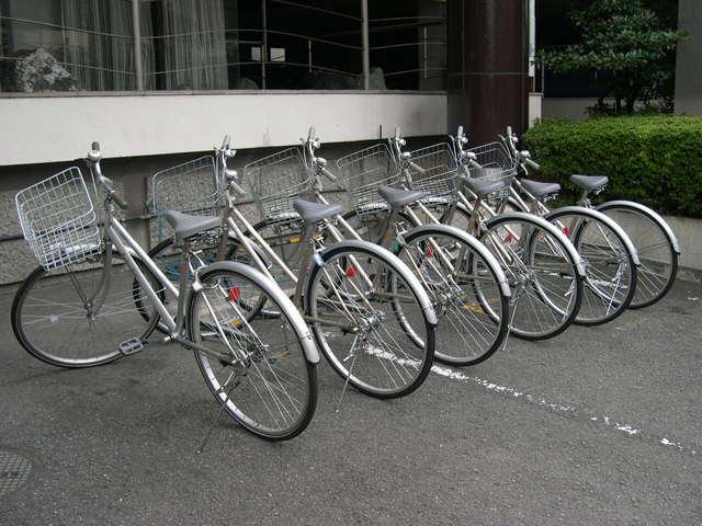 レンタサイクル(¥100/1日)