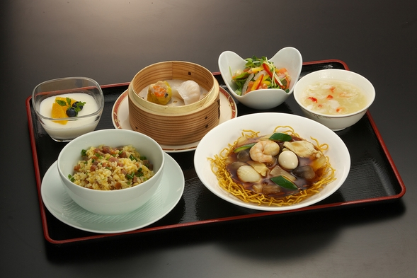 【お手軽一人旅】中国料理「梨杏」 お手軽夕食付きプラン
