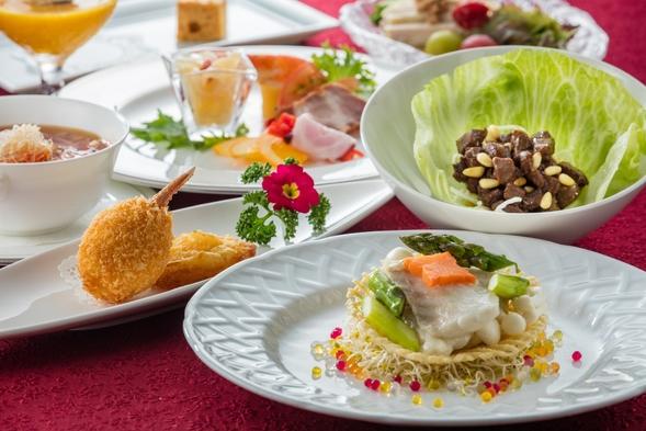 【ちょっぴり贅沢一人旅♪】中国料理「梨杏」コース料理付きプラン